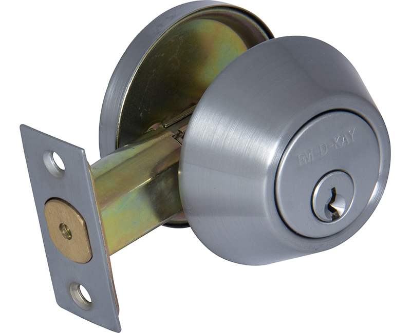 Commercial Grade Single Cylinder Deadbolt - 26D