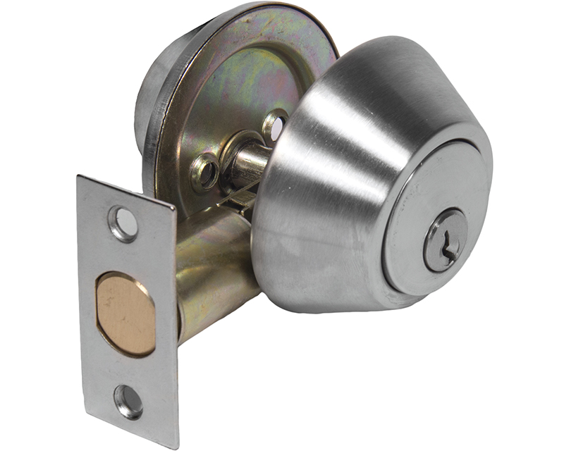Commercial Grade Double Cylinder Deadbolt - 26D