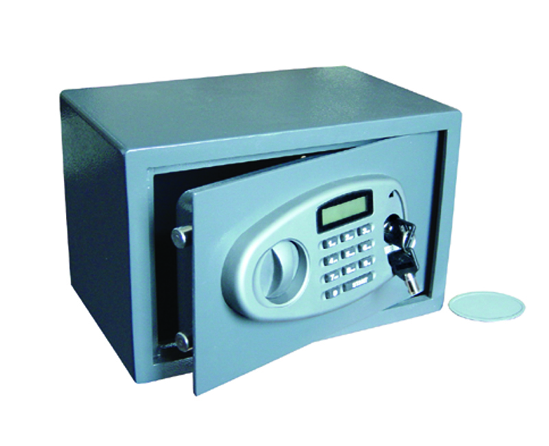 Security Safe With Lighted Display With Battery Inside