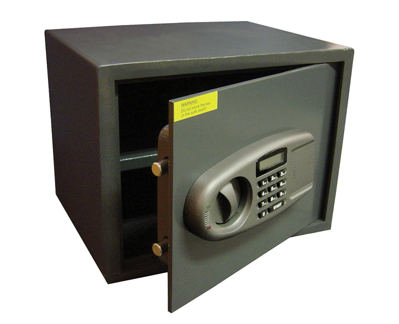 Security Safe With Lighted Display