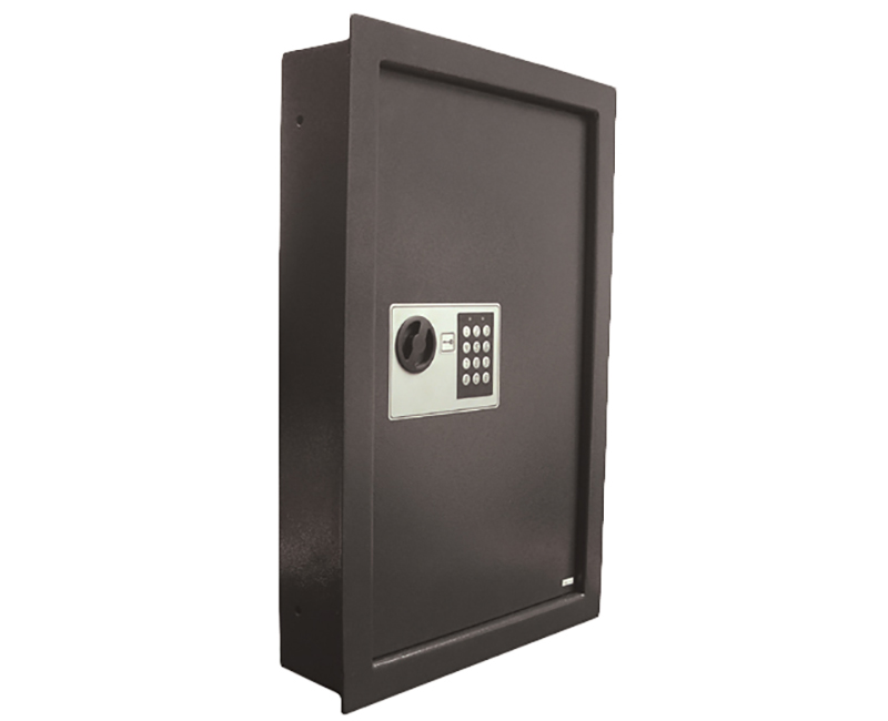 Steel Wall Safe With Electronic Keypad