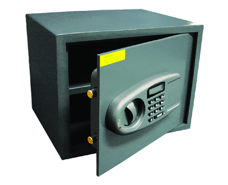 Security Safe With Lighted Display and Electronic Keypad
