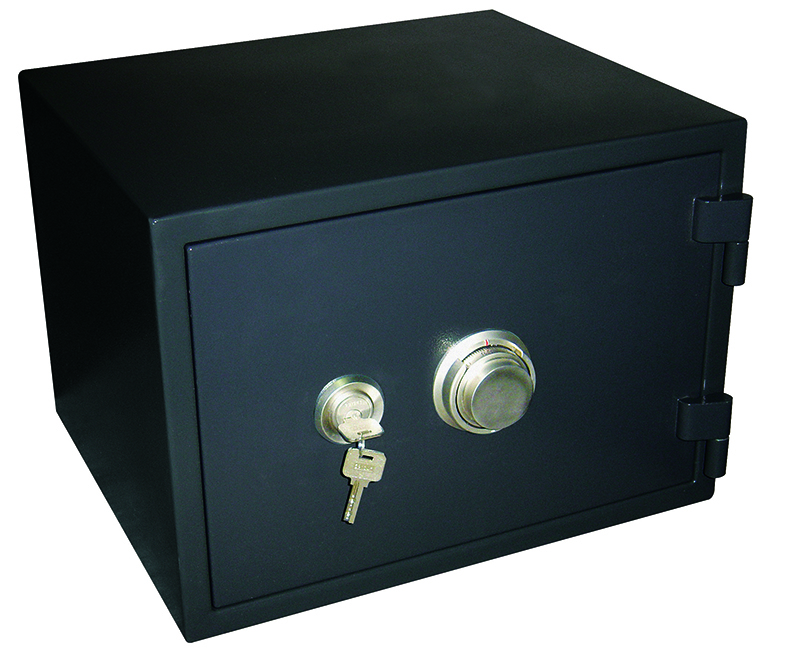 Fire Safe With Dial and Cross Key