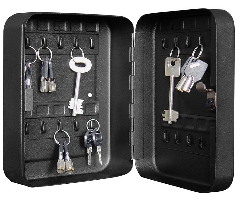 Metal Key Cabinet With Cam Lock - 20 Keys