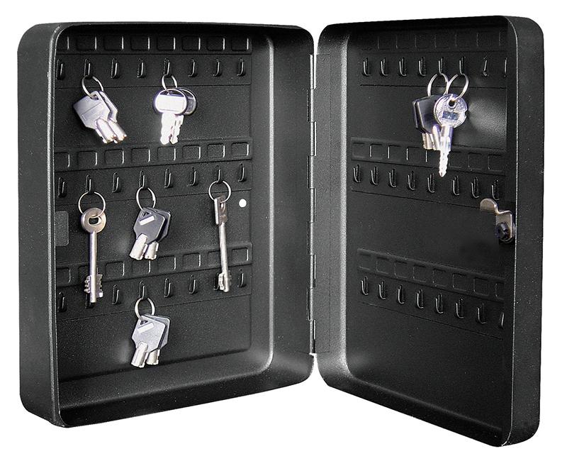Metal Key Cabinet With Cam Lock - 48 Keys
