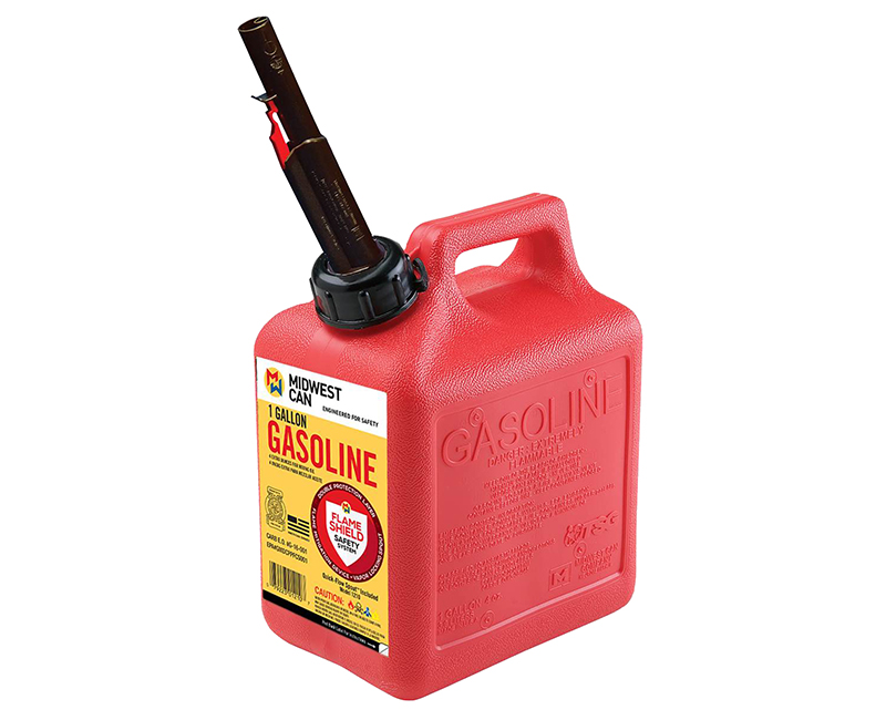 Auto Shut Off Gasoline Can - 1 Gallon