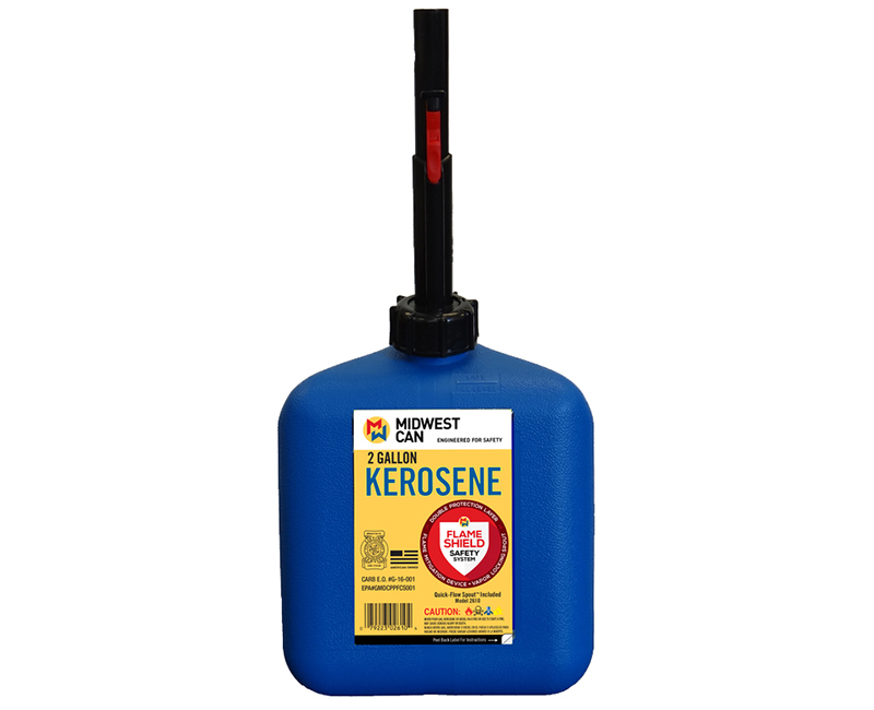 Auto Shut Off Kerosene Can - 2 Gallon