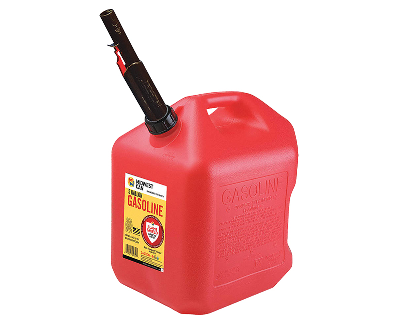 Auto Shut Off Gasoline Can - 5 Gallon