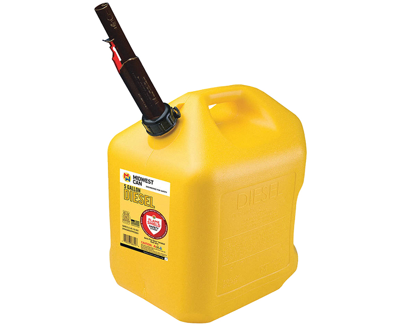 Auto Shut Off Diesel Can - 5 Gallon