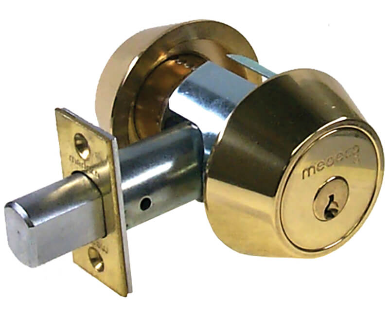 Double Cylinder Medeco Deadbolt - US3