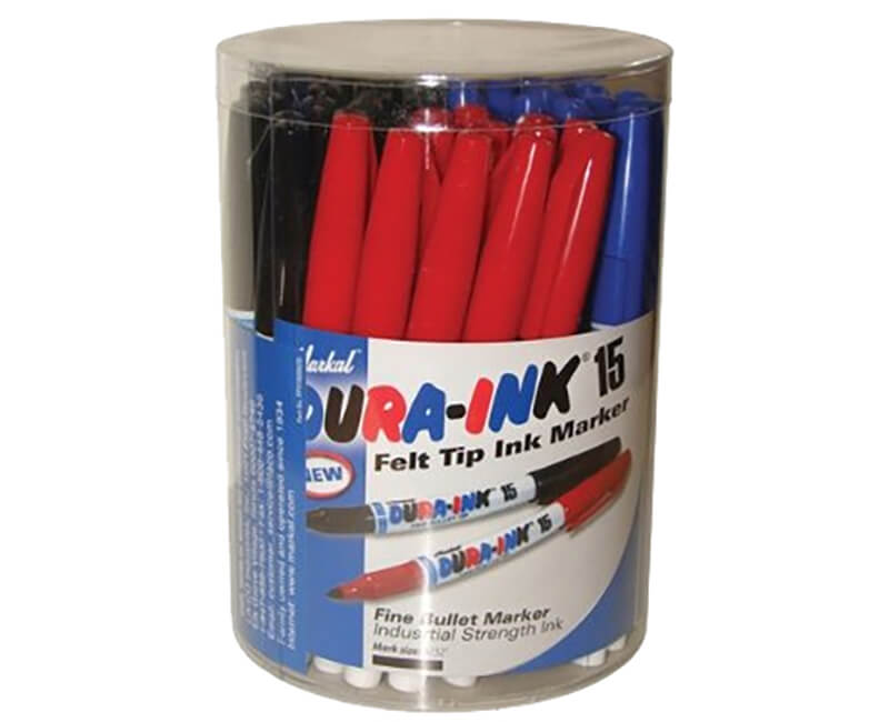Dura-Ink 48 Piece Canister Display - Black