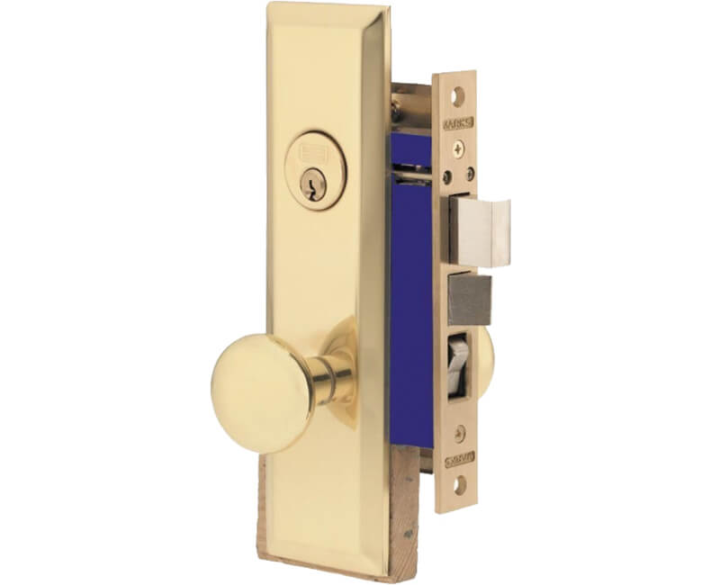 Apartment Function Mortise Lockset - Left Handed