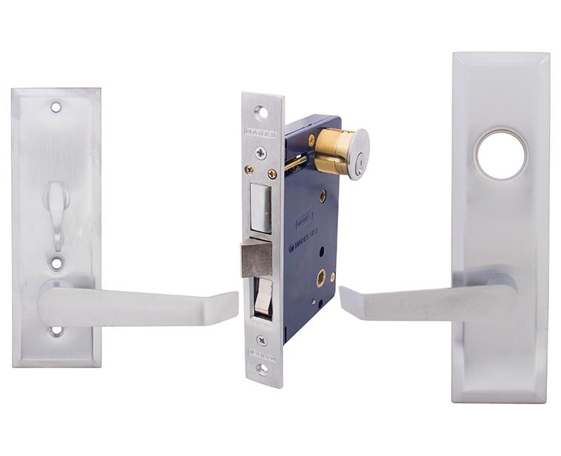 Lever Entry Mortise Lockset - Left Hand