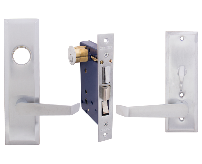 Lever Entry Mortise Lockset - Right Hand