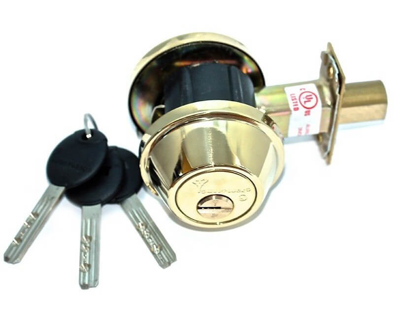 Cronus Single Cylinder Deadbolt - US3