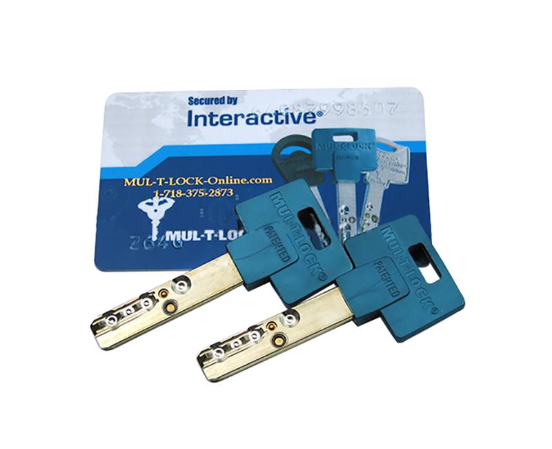 Code Card & 2 Keys