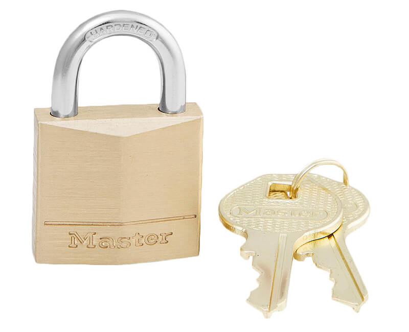 "1-3/16"" Brass Padlock - Carded"