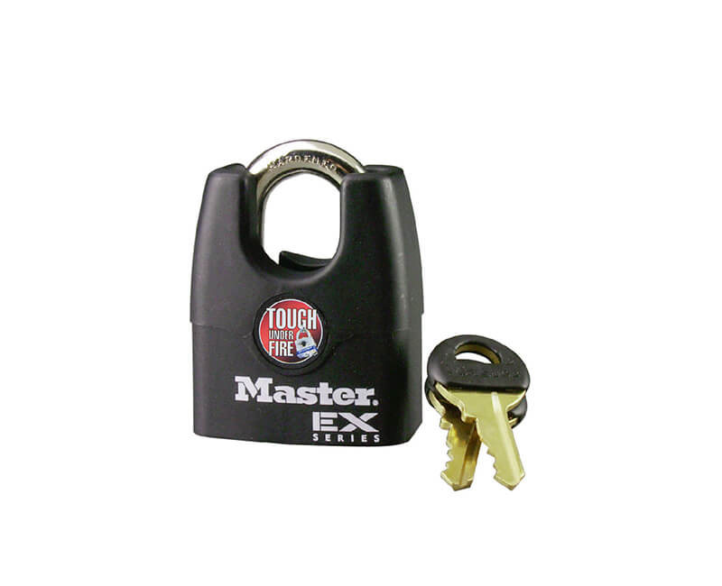 "1-3/4"" Laminated Steel Shrouded Padlock"