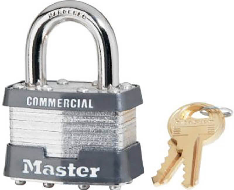 "1-3/4"" Wide Laminated Padlock - Boxed KA"
