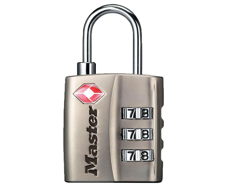 TSA Approved Travel Locks - Nickel
