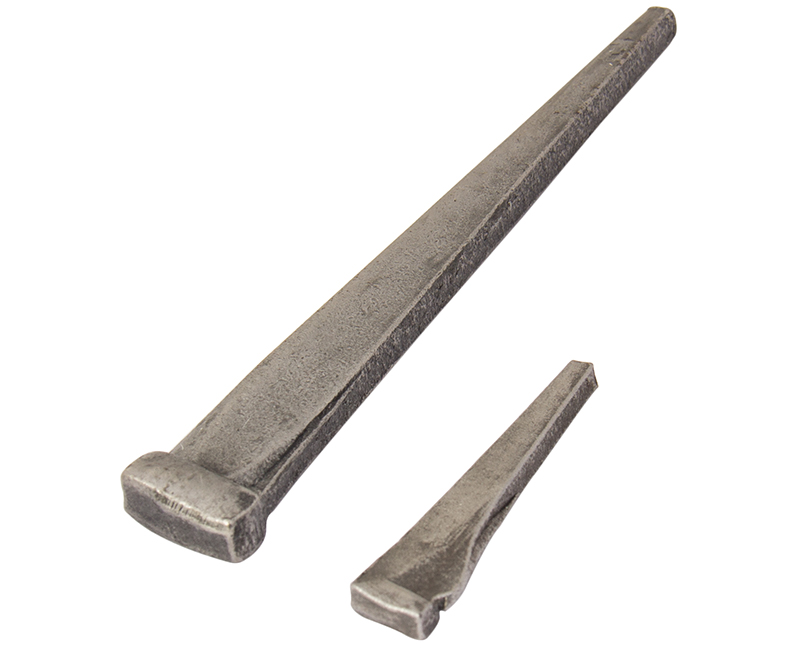 "3"" 10D Hard Cut Steel Masonry Nails - 1LB Box"