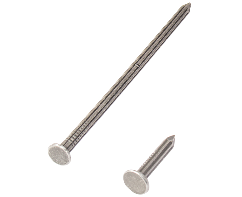 "3-1/2"" Fluted Masonry Nails - 1LB Box"