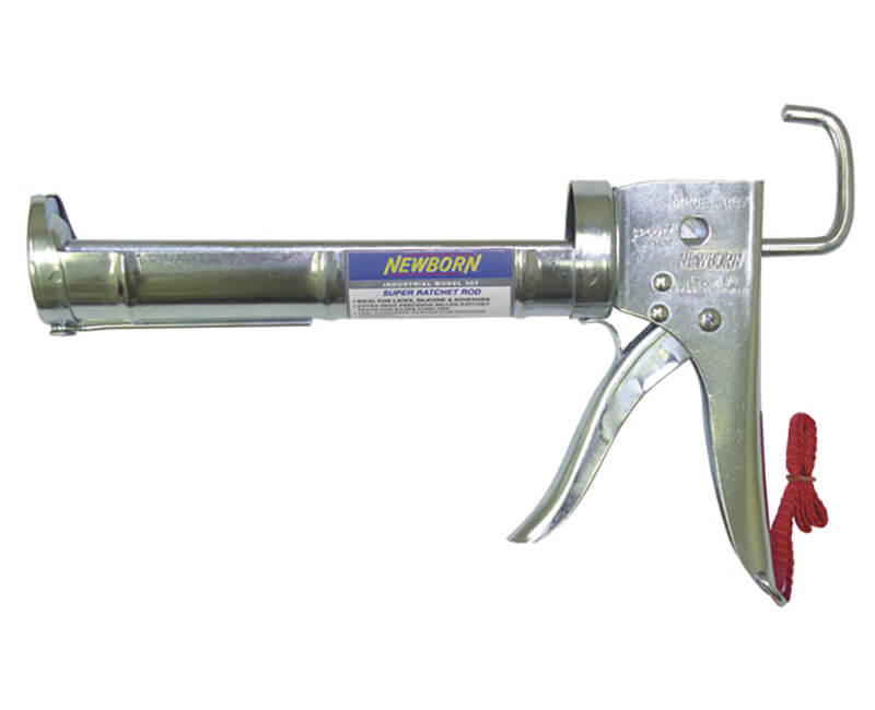 1/10 GAL Industrial Super Ratchet Rod Cradle Caulk Gun