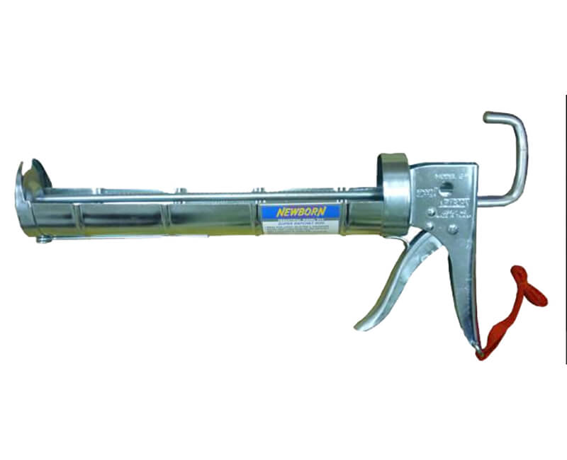 1/4 GAL Industrial Super Ratchet Rod Cradle Caulk Gun