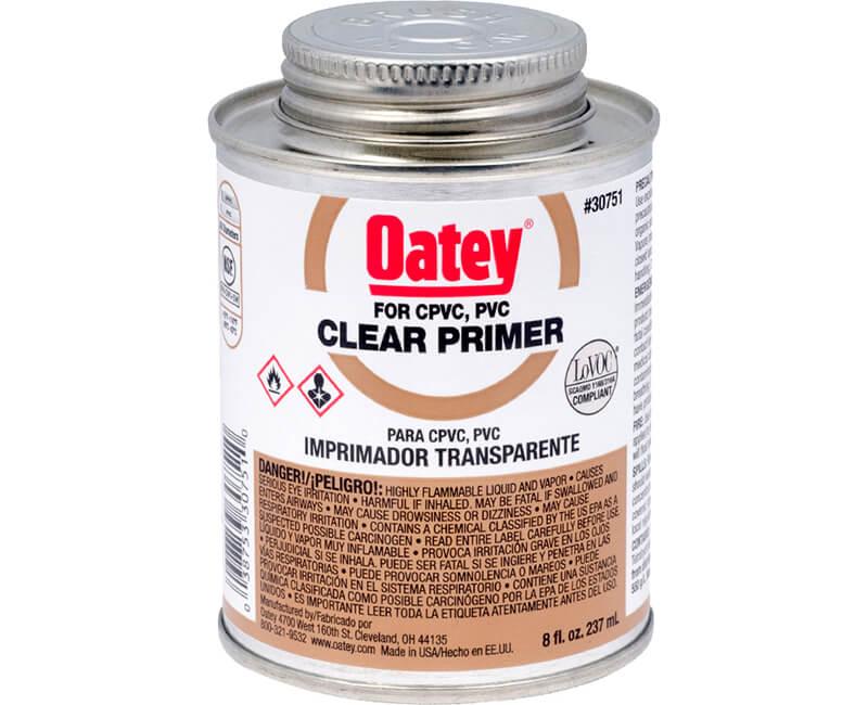 8 Oz. Clear PVC Primer