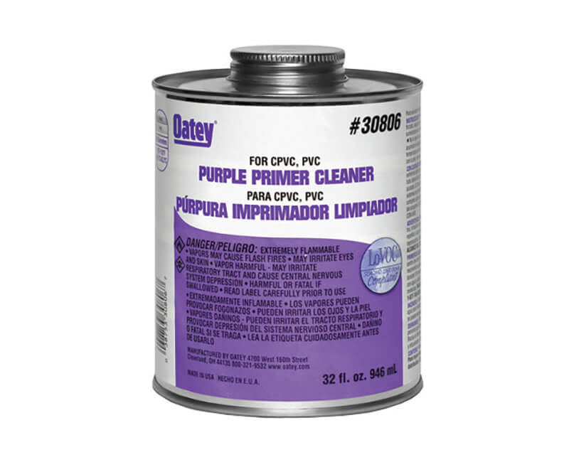 4 Oz. PVC Primer Cleaner - Purple
