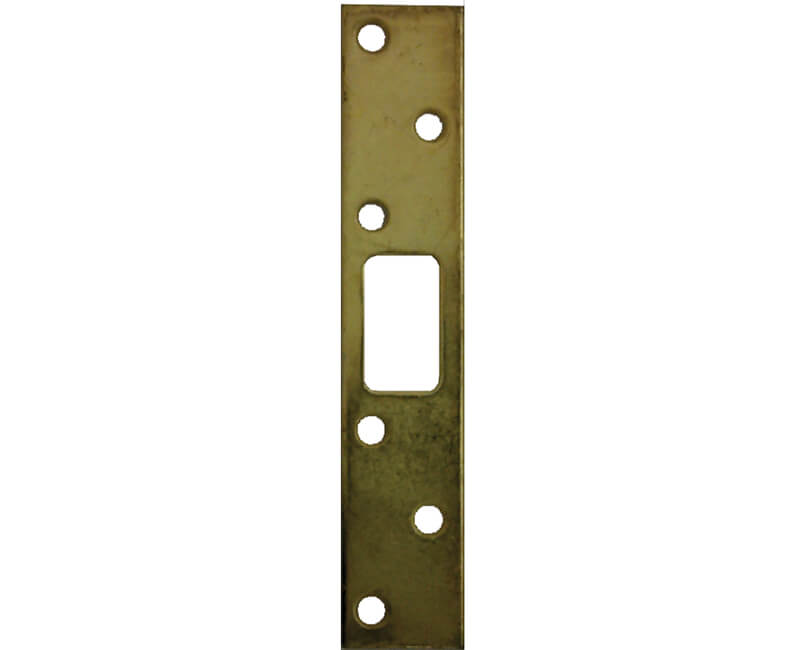 Super Strikes For Deadbolt - Brass Plated