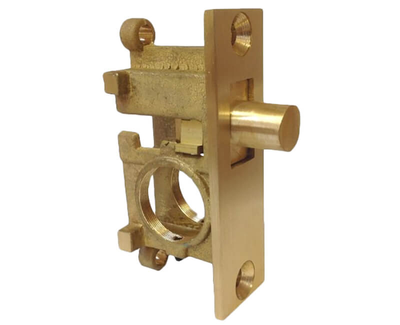 Glass Door Lock Round Bolt