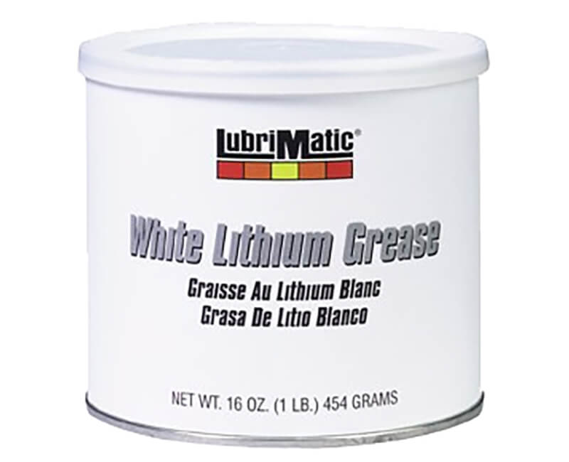 16 Oz Can White Lithium Grease