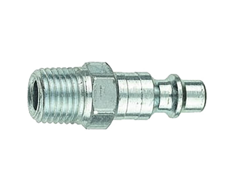 "1/4"" Male Quick Connect X 1/4"" Male NPT Air Plug"