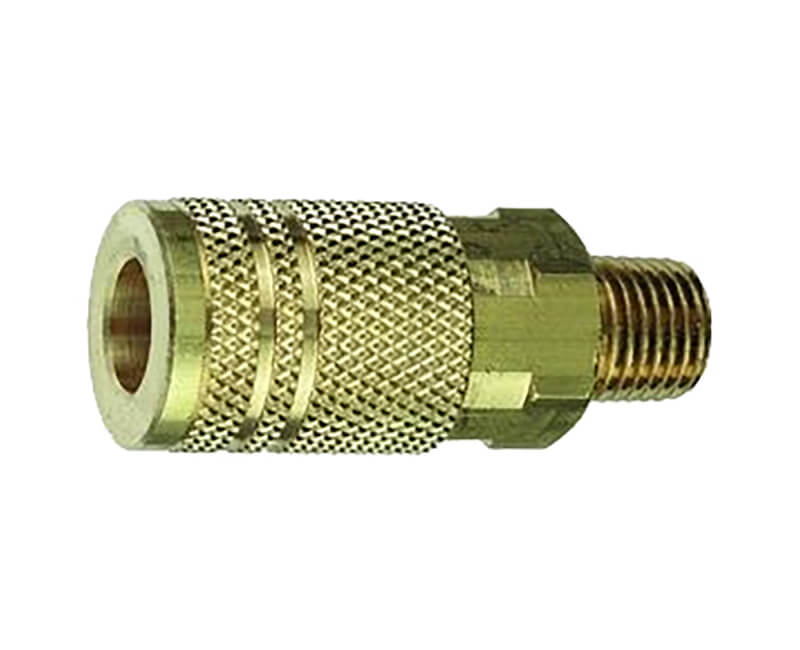 "1/4"" Female Quick Connect X 1/4"" Male NPT Air Coupler"