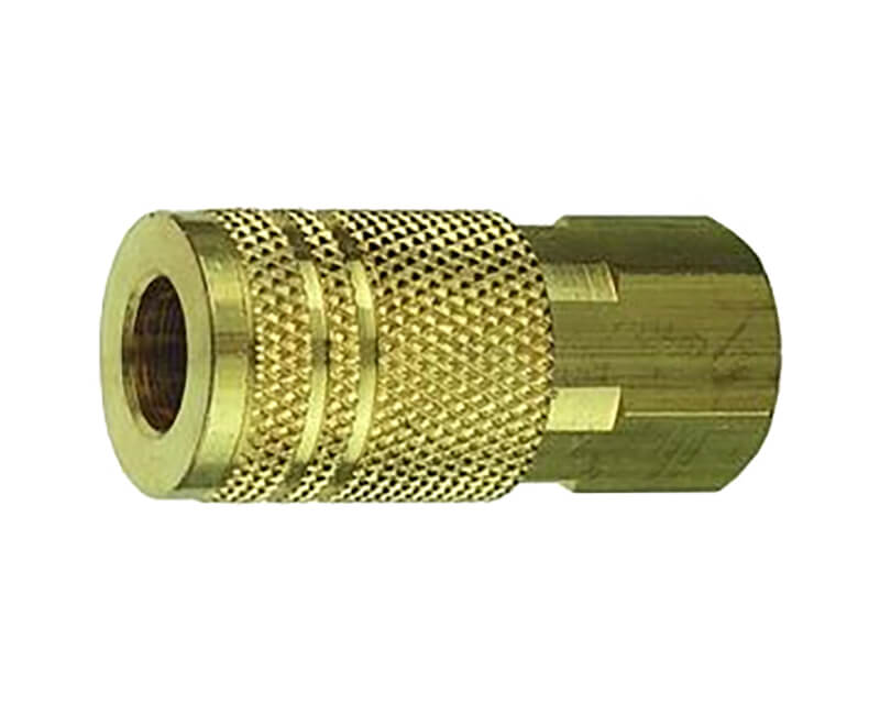 "1/4"" Female Quick Connect X 1/4"" Female NPT Air Coupler"