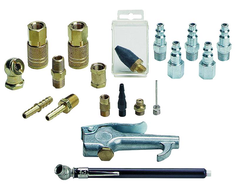 Air Compressor Accessory Kit - 19 Piece