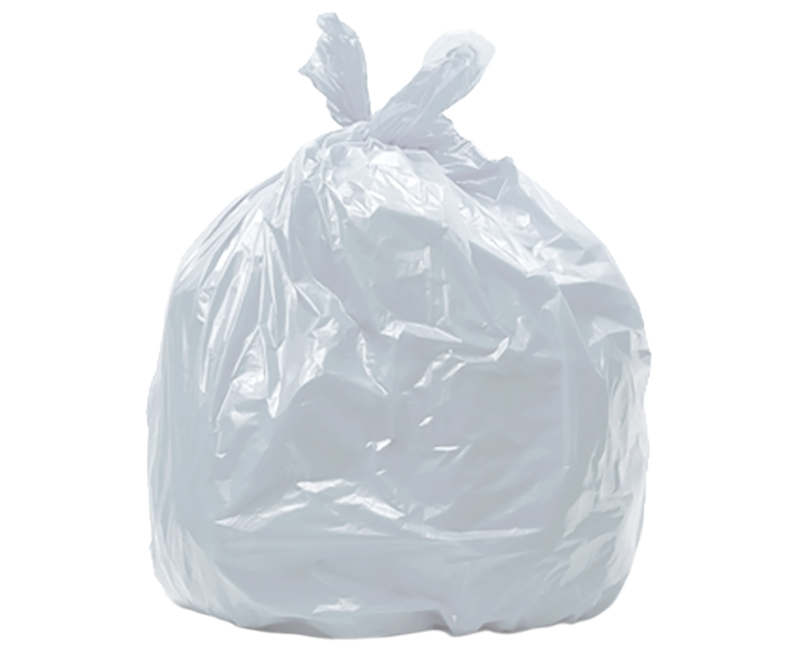 1.25 Mil Clear Trash Bags 33 Gal 33 x 40 - 40 Ct. Boxed