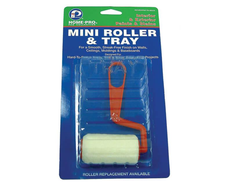 "3"" Mini Roller & Tray"