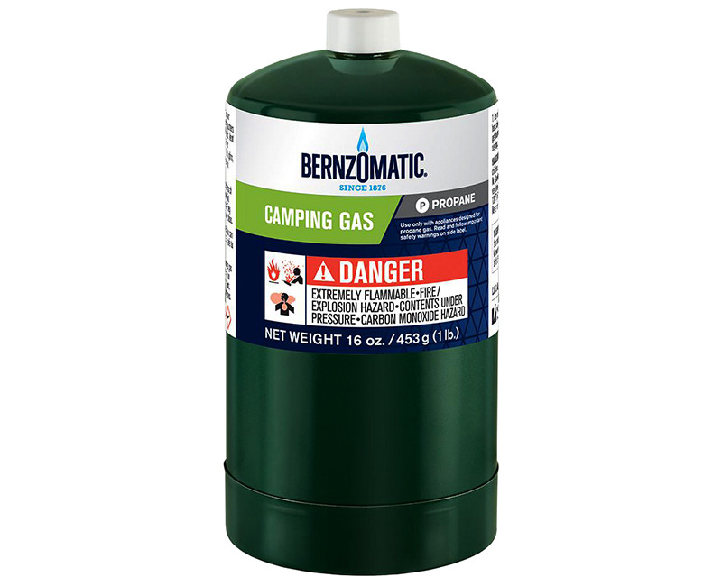 16.4OZ PROPANE CYLINDER FOR CAMPING