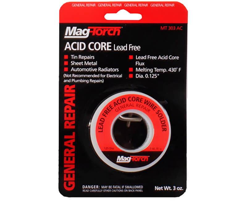 3 Oz. Silver Acid Core Solder