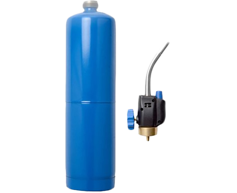 Propane Kit W/ Tank & Self Igniting Torch Head 2 Pieces