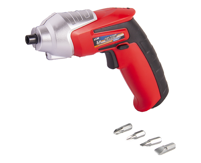 3.6V Inline Cordless Screwdriver Carded