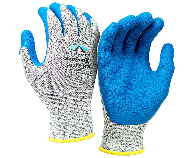 Crinkle Latex Archon x Glove - Large