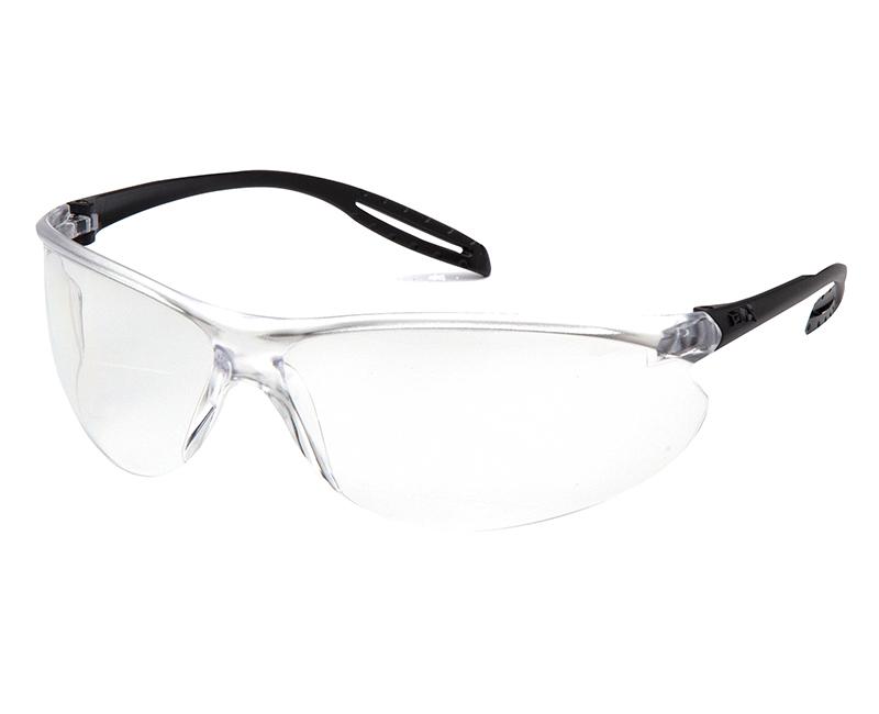 Neshoba Black Frame - Clear Lens