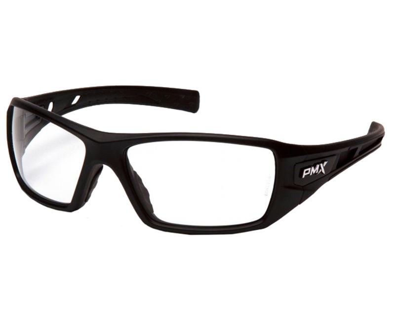 Velar Safety Glasses Black Frame - Clear Lens