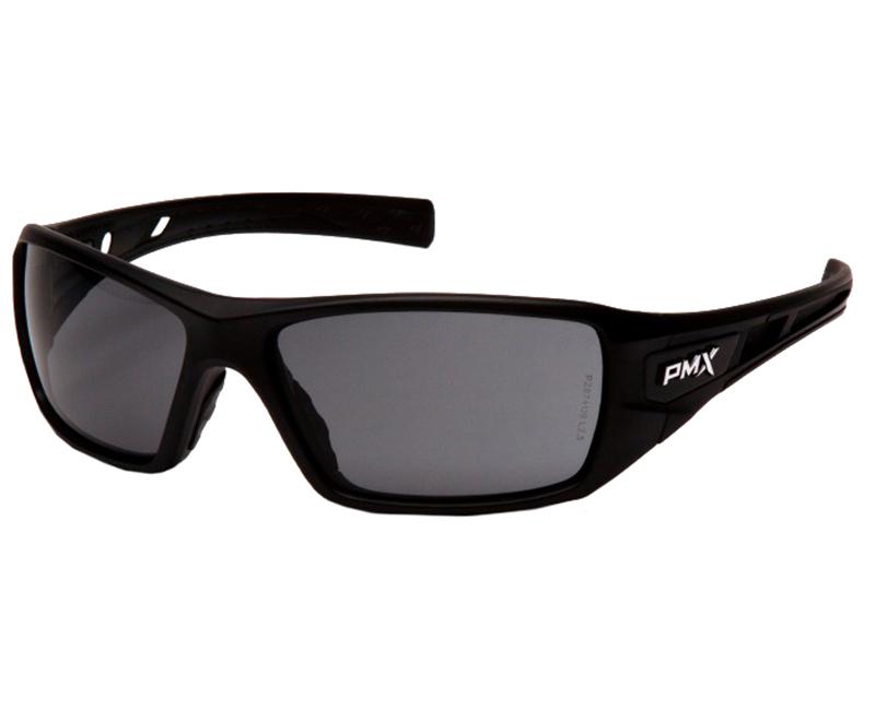 Velar Safety Glasses Black Frame - Gray Lens