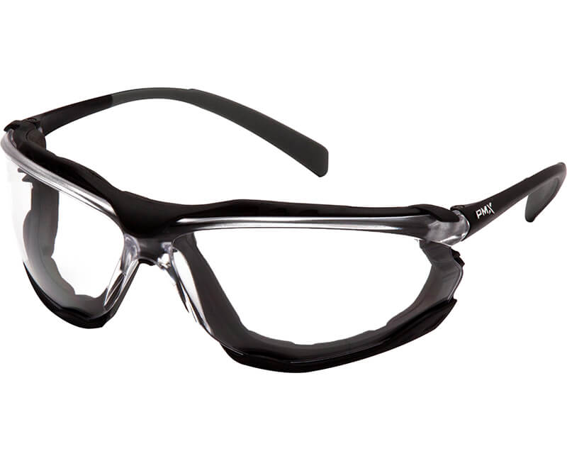 Proximity Black Frame - Clear Lens