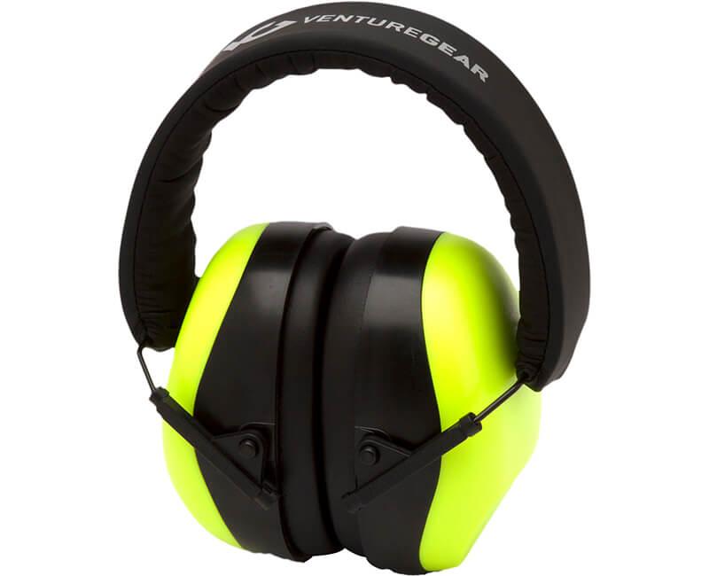Low Profile Hearing Protector - Hi Vis Lime