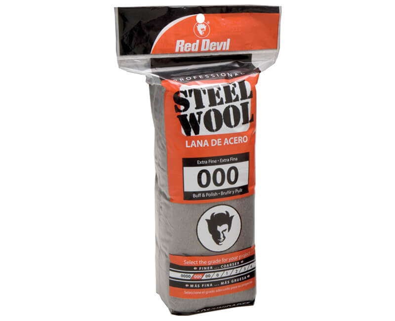 Extra Fine Steel Wool - 16 Pack